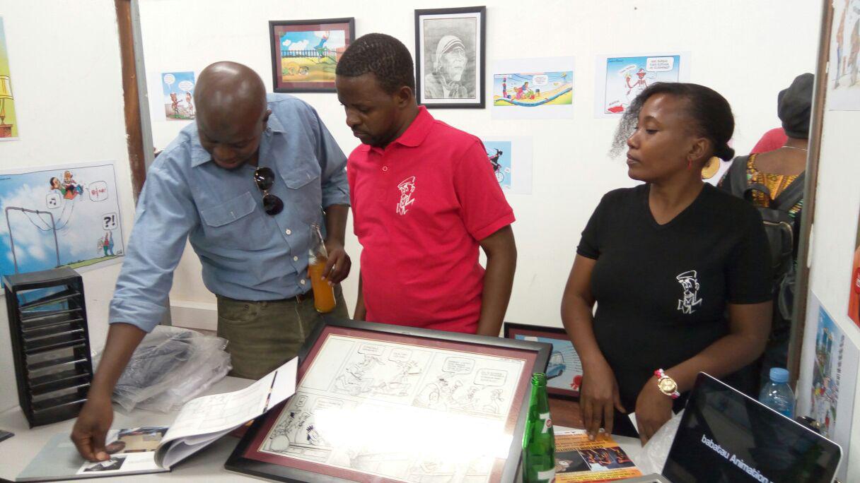 Masoud Kipanya launched babatau brand